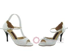 Natural Spin Tango Salsa Shoes/Tango Shoes/Fashion Shoes(Open Toe):  T1102-T9_Iv