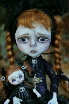 Monster Art Doll Horror -Goth