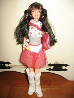 RARE-Barbie-Fashion-Fever-tube-loose-Pop-Tokyo-Teresa-doll-Great-condition
