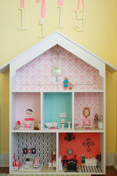 Diy Dollhouse Using Storybook Creator By Creative Memories For Wallpaper And Floors