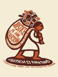 Justicia Para Todos - Poster Art for Social Justice - Ricardo Levins Morales Protest Posters, Protest Art, Protest Signs, Activist Art, Between Two Worlds, Political Art, Power To The People, Social Issues, New Wall