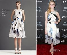 Nicola Peltz In Christopher Kane - 'Bates Motel' LA Premiere - Red Carpet Fashion Awards White Gowns, White Dress, Nicolas Peltz, Bates Motel, Christopher Kane, Red Carpet Fashion, Designer Wear, Color Splash, Style Guides