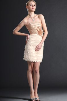 eDressit Stylish Strapless Cocktail Dress Party Dress