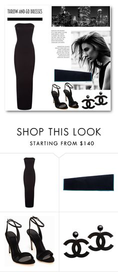 """""""Easy Peasy: Throw-and-Go Dresses"""" by dezaval ❤ liked on Polyvore featuring Wolford, Christian Louboutin, Polo Ralph Lauren and easypeasy"""