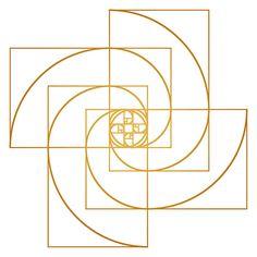 Golden Pinwheel Fine Art Print by Melek Design by MelekDesign, $20.00