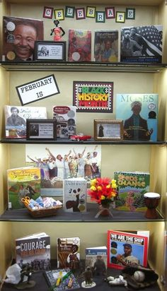 African American History Month, American History Lessons, Black History Quotes, Black History Books, Library Book Displays, Library Ideas, Library Signs, Children's Library, Class Library