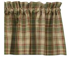 Windowpane Plaid Tier Curtains Want For My Kitchen I Really Need To Learn How Sew