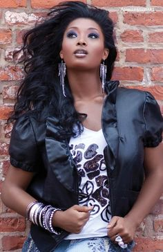Toccara Jones | Cycle 3  For: Ashley Stewart's Urban Chic Collection Fall 2010 |Re-pinning because it's HER!