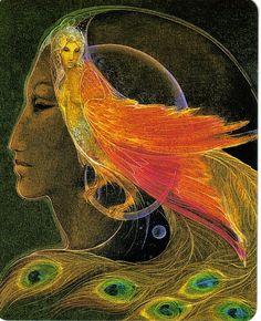 Peacock by Susan Sedon Boulet.