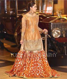 Pakistani Kids Dresses, Beautiful Pakistani Dresses, Shadi Dresses, Pakistani Outfits, Indian Dresses, Beautiful Dresses, Beautiful Women, Bridle Dress, Beautiful Dress Designs