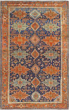 "Persian Serapi rug, 7'8"" X 12'3"", 1900, Keivan Woven Arts Gallery"