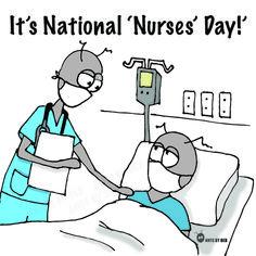 National Nurses Day, Cartoon Drawings, Comics, Drawings Of Cartoons, Cartoons, Comic, Comics And Cartoons, Comic Books, Comic Book