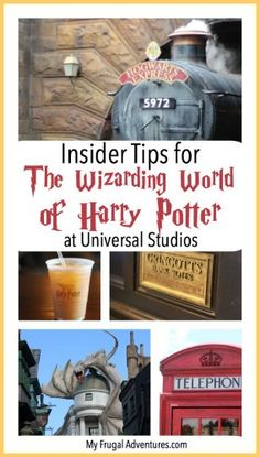 Fun insider tips for traveling to the Wizarding World of Harry Potter at Universal Studios.  Quick secrets for having a magical vacation.