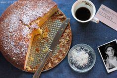 BEST Vasilopita recipie.  I've received many compliments on it.  Brandy-Orange New Year's Cake (Vasilopita), a recipe on Food52