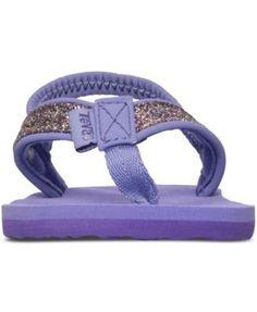 Teva Toddler Girls' Mush Ii Flip-Flop Sandals from Finish Line - Purple 6