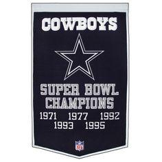 5 x Super Bowl Champions Dallas Cowboys PHOTO ART FRIDGE MAGNET 2x3