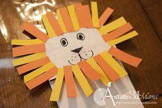 Bible Lesson: Daniel and the Lion's Den + Craft Tutorial Toddler Bible Crafts, Preschool Bible Activities, Bible Story Crafts, Bible School Crafts, Sunday School Activities, Sunday School Crafts, Bible For Kids, Preschool Crafts, Bible Stories