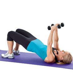 Chest fly with bridge: shrinks underarm fat.