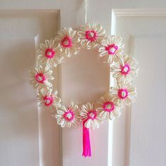 How pretty is this wreath!? Perfect for a colourful Christmas. Search 'flowerless mini wreath' on dtll.com.au or click on the shopable link in our profile to buy #dtll #downthatlittlelane