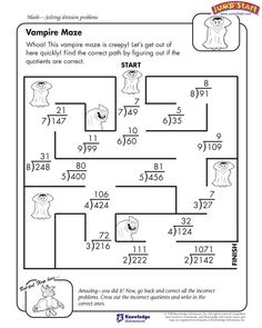 Worksheet Fun Math Worksheets 4th Grade 5th grade math grades and worksheets on pinterest vampire maze 4th worksheet for division jumpstart
