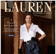 I could live inside a Ralph Lauren ad...