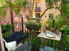 Small Balcony DIY Oasis