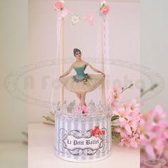Bailarina para deixar a decoração de qualquer ambiente mais fofo e delicado decoracao infantil ballet jovem