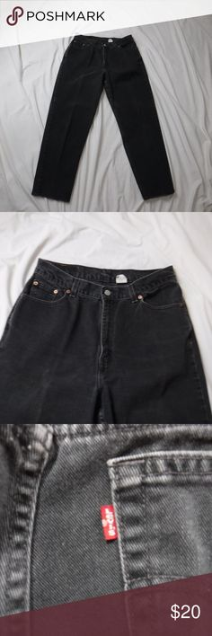 0664ada747 Vintage Levi's 512 Mom Jeans Slim Fit High Waisted Vintage Levi's 512 Jeans  Slim Fit,