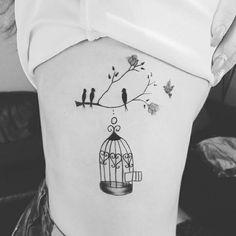 Birds Cage Tattoo