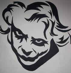 The Joker Superhero Logos, Art Drawings, Tribal Art, Drawings, Art, Tribal Art Drawings, Lyric Art, Sharpie Art