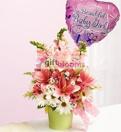 Little Princess flowers bouquet AT sendflowersandmore.com