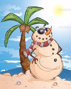 depositphotos_8258231-stock-illustration-sand-snowman-at-the-beach.jpg (809×1023)