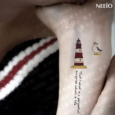 Small Lighthouse Tattoo Designs Car Tuning