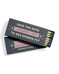 Darling save the date idea.