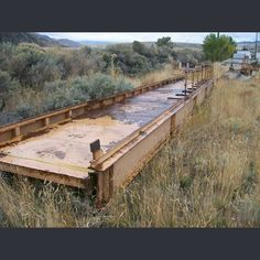 60 ft. Long  7.6 ft. Wide  Constructed with 3/8 in. x 21 in. I Beam   Make ideal ATV type bridge      Please contact us for more information.      View more Steel Bridges