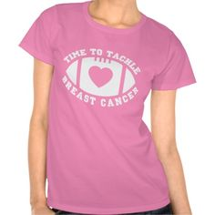 Time to tackle breast cancer tees