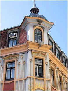 Art Nouveau / Jugendstil architecture, Rīga, Latvia. #Europe
