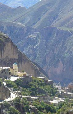 Panoramic view of Iruya (Vista panoramica de Iruya) | Salta | Argentina