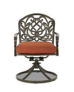 Klaussner Outdoor International Outdoor/Patio Riviera Swivel Rock Dining Chair W6004 SRDC - Klaussner Outdoor - Asheboro, NC