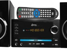 Micro System DVD MP3 USB Ripping 25W RMS - Lenoxx MD270 com as melhores…