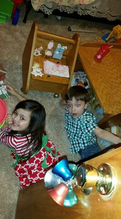 LMS AND LYLA AT CHRISTMAS 2015
