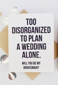 Funny bridesmaid pro
