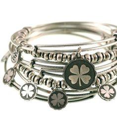 Alex and Ani (Lucky) bangle set.  LOVE Alex and Ani bracelets.  Perfect gifts!