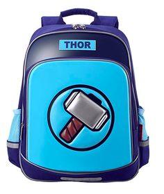 Children s Light-reflecting Marvel Heroes Thor School Backpack  Thor  Marvel   Backpack  MarvelMerch  Superhero  Avengers  Superherostuff  MarvelAvengers 37705df95285e