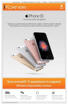 Arrivati #iPhoneSE