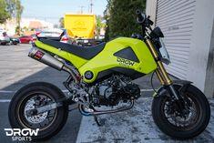DROWsports Grom Build: Part 5 - New Paint, wheels and brake upgrade - DROWsports Blog | Custom Honda & Yamaha Scooter Parts & Lifestyle