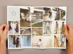 Cool layout for multiple photographs