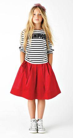 Kid's Wear - Twin-set Simona Barbieri Fashion Kids, Little Kid Fashion, Girl Fashion Style, Dope Outfits, Kids Outfits, Fashion Outfits, Moda Tween, Beautiful Outfits, Dope Clothes