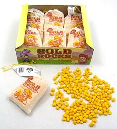 Gold Rocks Nugget Gum
