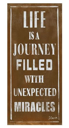 Life Is a Journey Wall Decor